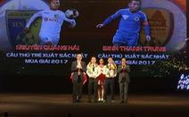 Cầu thủ xuất sắc nhất V-League 2017: Đinh Thanh Trung