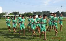 Học viện bóng đá NutiFood đá giao hữu với U-13 Frontale