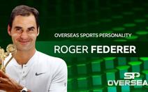 Federer lần thứ 4 đoạt giải Nhân vật thể thao nước ngoài