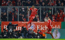 Đá bại Dortmund, B.M vào tứ kết Cúp quốc gia Đức