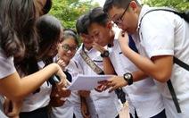 TP.HCM: thi tuyển vào lớp 10 sẽ gay gắt hơn