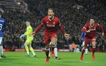 """Van Dijk """"nổ súng"""" trong trận ra mắt, Liverpool loại Everton ở Cúp FA"""