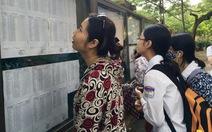 Học sinh Hà Nội 'bở hơi tai' đua vào lớp 10