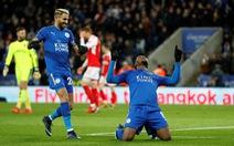 Iheanacho đưa Leicester vào vòng 4 Cúp FA