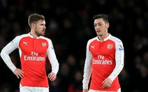 Điểm tin sáng 22-2: Ozil và Ramsey vắng mặt trận gặp Ostersunds