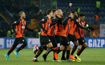 Roma thua ngược Shakhtar Donetsk tại Metalist
