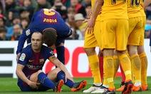 Điểm tin tối 6-3: Barcelona mấtIniesta một tháng