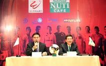 NutiFood tài trợ chính cho V-League 2018