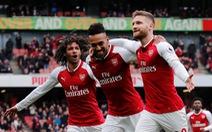 Đè bẹp Watford, Arsenal thu hẹp khoảng cách với tốp 4