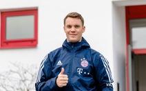 Điểm tin tối 27-3: Thủ thành Neuer trở lại tập luyện