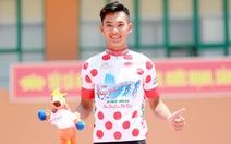 Tay đua 19 tuổi Hồ Vũ mặc chiếc áo đỏ đầu tiên