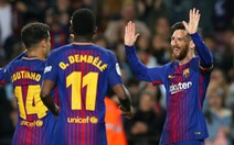 Messi ghi hat-trick, Barca đại thắng Leganes