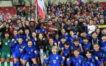 Tuyển nữ Thái Lan lần thứ 2 liên tiếp đoạt vé dự World Cup