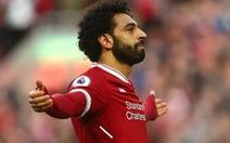 Salah lập kỷ lục ghi bàn, Liverpool thắng dễ Bournemouth