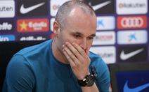 Iniesta sẽ rời Barca vào cuối mùa giải này
