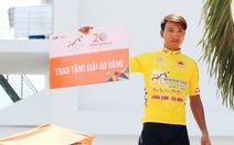Nguyễn Thành Tâm chạm tay đến áo vàng chung cuộc