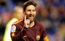 Messi lập hat-trick, Barcelona vô địch trước 4 vòng đấu