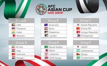 Việt Nam nằm cùng bảng với Iran và Iraq tại VCK Asian Cup 2019