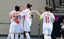 Tuyển futsal nữ VN vào tứ kết Giải châu Á 2018