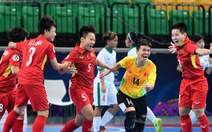 Futsal nữ VN vào bán kết Giải châu Á 2018