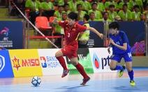 Futsal nữ VN thua đáng tiếc Thái Lan ở trận tranh hạng ba