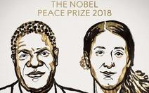 Nobel Hòa bình 2018: #metoo ở một tầm mức khác
