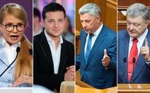 Tổng tuyển cử ở Ukraine:Chính khách và nghệ sĩ trên đường đua