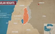 Cao nguyên Golan: Miếng gân gà sắp bị nuốt trôi?