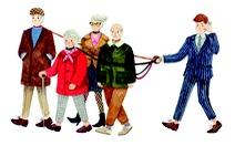 Chăm sóc người già: Mô hình Tây học ta