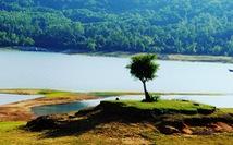 Cuối tuần đi ngắm hồ Phú Ninh mùa nước cạn