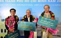 TP.HCM đón vị khách thứ 7 triệu đến từ Pháp