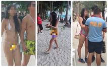 Phạt tiền nữ du khách Đài Loan mặc bikini 'chẳng khác gì sợi dây'