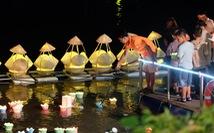 Sông Cái lung linh trong dạ tiệc hoa đăng