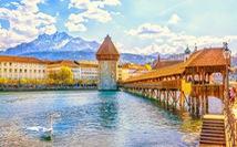 Nồng nàn sắc thu Thụy Sĩ