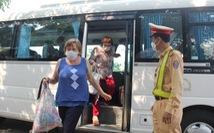 Tạm dừng taxi, xe có tuyến vào bến xe Đà Nẵng