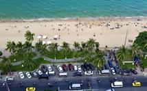 Nha Trang dừng hoạt động tập trung đông người trên tuyến công viên bờ biển