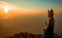 Những điều thú vị về tượng Phật Bà bằng đồng cao nhất châu Á trên đỉnh núi Bà Đen