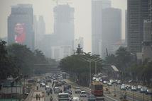 Ô nhiễm không khí đe dọa Asiad 2018