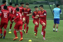 Tiền đạo Nguyễn Tiến Linh chia tay U23 VN