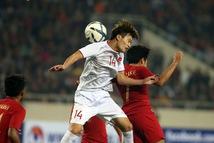 Hoàng Đức đá cặp tiền đạo cùng Đức Chinh trận gặp U23 Thái Lan