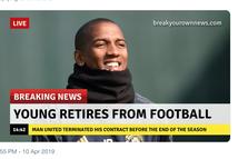 Để thua Barca, CĐV M.U trút giận lên Young