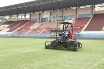 U23 Việt Nam đá giao hữu với U23 Myanmar trên sân Việt Trì