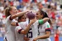 Video ĐKVĐ Mỹ đá bại Tây Ban Nha 2-1 đoạt vé  vào tứ kết World Cup nữ 2019