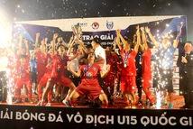 PVF vô địch U15 quốc gia 2020