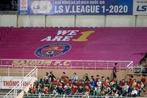Khẩu hiệu 'Chúng ta là một', CLB Sài Gòn chỉ nói cho vui?