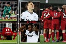 Thắng ngược West Ham, Liverpool thẳng tiến đến ngôi vô địch
