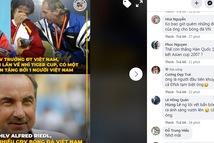 Cổ động viên Việt Nam thương tiếc HLV Alfred Riedl: 'Người dân Việt yêu mến ông!'