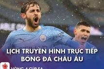 Lịch trực tiếp bóng đá châu Âu 23-1: Real, Man City thi đấu