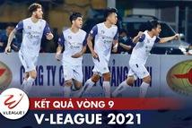Kết quả, bảng xếp hạng V-League: CLB Sài Gòn đẩy Hà Tĩnh xuống đáy bảng