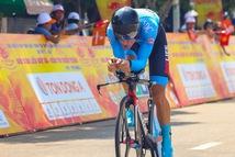 Loic Desriac chạy cá nhân tính giờ gần 50km/h